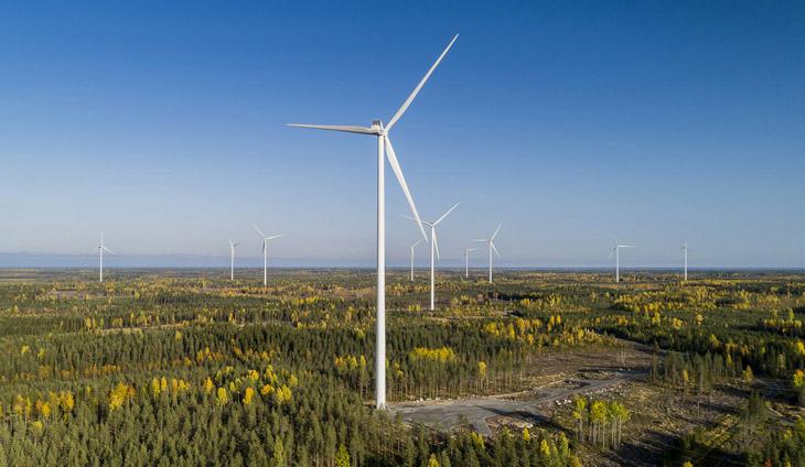 Tuulivoimaloita
