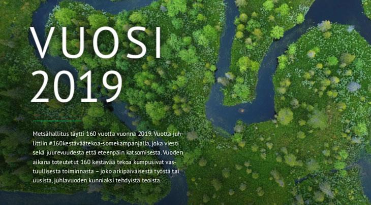 Metsähallitus - vuosi 2019