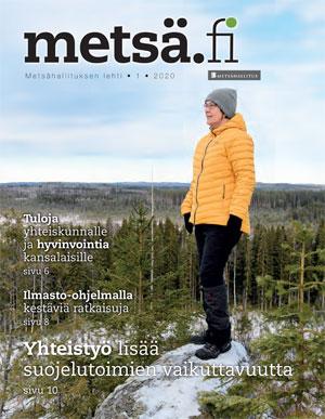 Metsä.fi-lehden 1/2020 kansi