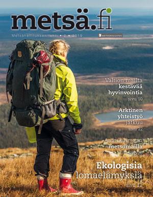 Metsä.fi-lehden 2/2019 kansi