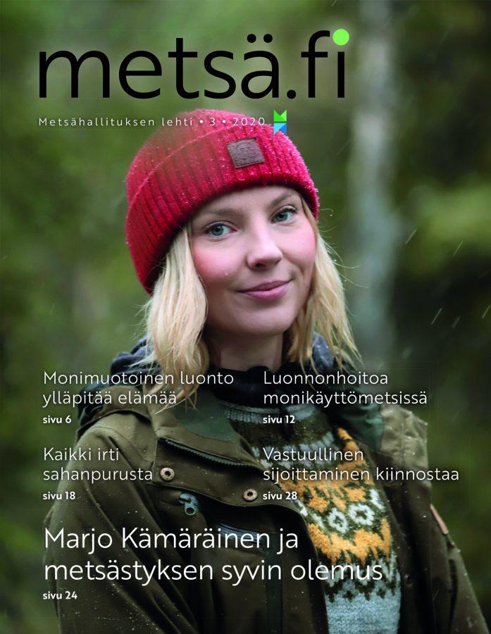 Metsä.fi-lehti 3/2020 -kansikuva
