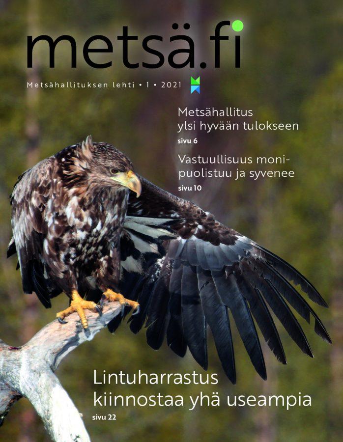 Metsä.fi-lehti 1/2021 -kansi